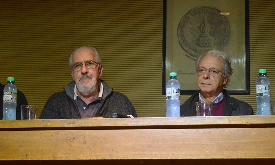 Atilio Borón y Frei Betto proponen una universidad comprometida con la comunidad.