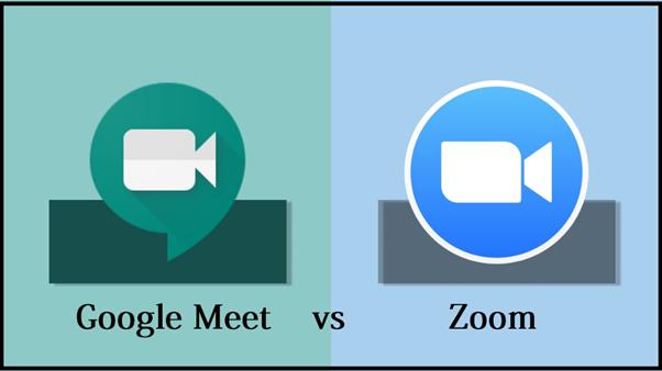 Zoom vs Google Meet: la batalla de las videollamadas en épocas de pandemia
