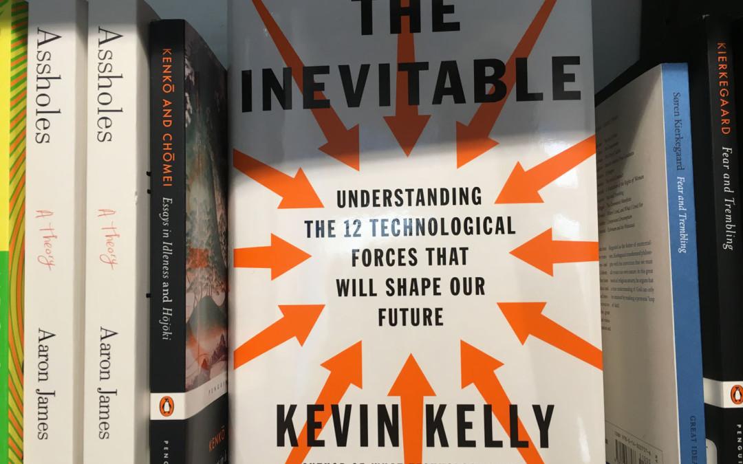 Los 12 verbos inevitables del postdigitalismo.  (Kevin Kelly)