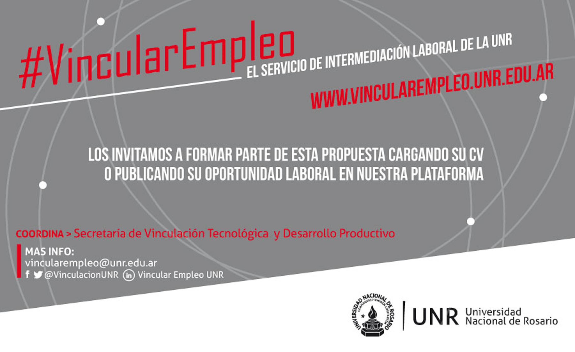 Vincular Empleo UNR: usos sociales de la tecnología en el campo de la intermediación laboral