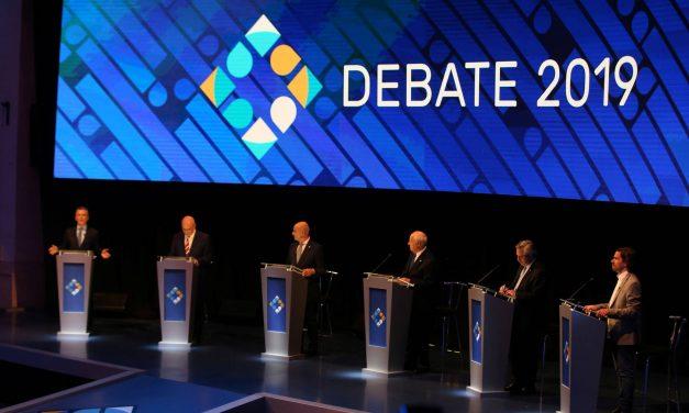 Debates presidenciales. Acá están.
